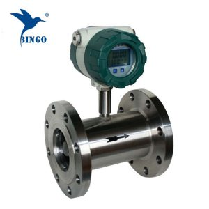 stainless steel deionized water turbine flow meter sensor