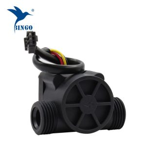 Black PP material water flow sensor pipes