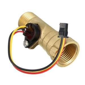 brass hall turbine flow sensor meter switch control