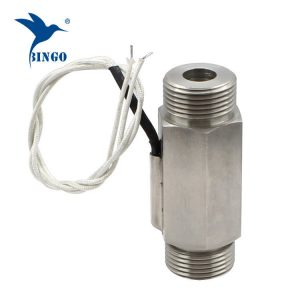 DN25 300V magnetic stainless steel flow switch for water heater