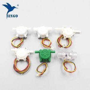 plastic brass water flow sensor for water heater, boiler, coffee machine