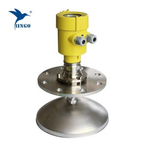 High frequency 4-20mA Hart output radar level transmitter for strong dust