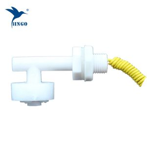 anndason 6 pcs right angle white plastic pp float switch fish tank liquid water level control sensor