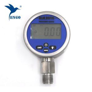 intelligent vacuum digital pressure gauge, lcd, led display, 100mpa gauge