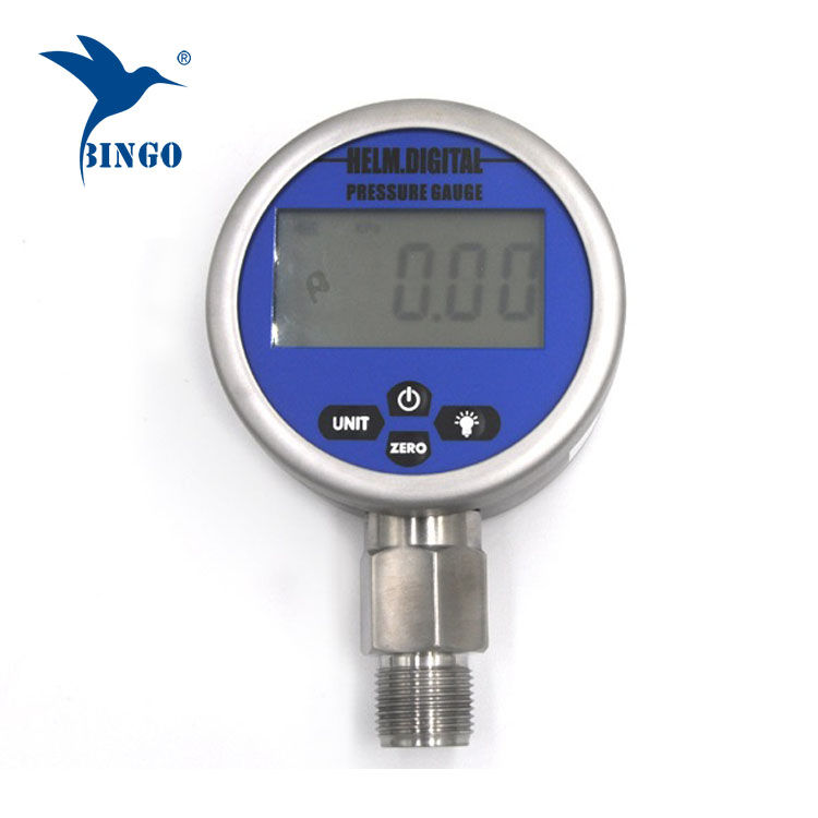 Intelligent Vacuum Digital Pressure Gauge, LCD, LED Display, 100MPa Gauge