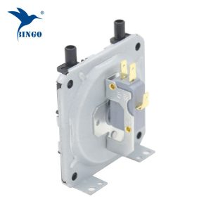 low air differential pressure switch for steam, boiler, water heater