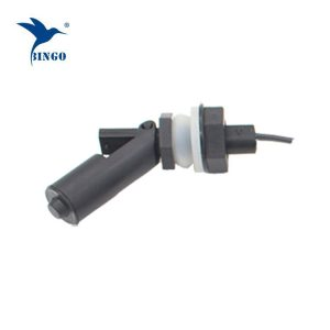 M16 thread connection black horizontal electrical water float switch for water dispenser