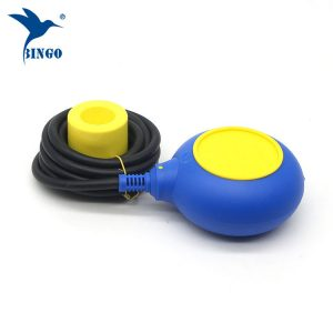 MAC 3 type level regulator in yellow and blue color cable float switch