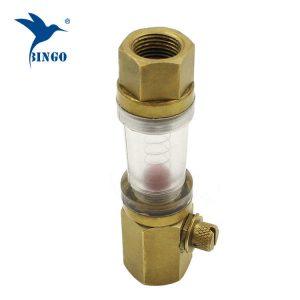 Male to female water meter flow sensor