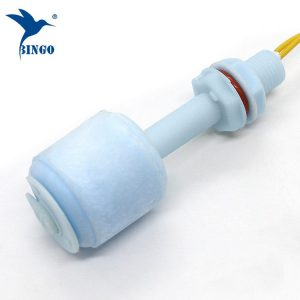 vertically intall pp water float level switch
