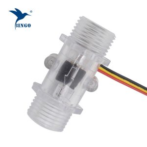 Pulse water flow sensor