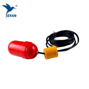 Sinking pump level controller and water tank cable float level switch