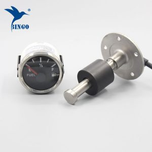 Stainless steel fuel tank indicator