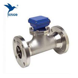 threaded digital turbine water flow meter sensor