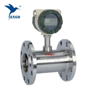 stainless steel turbine fuel consumption flow meter/diesel fuel flowmeter