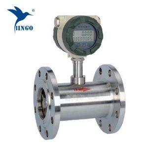 stainless steel turbine fuel consumption flow meter/diesel fuel flowmeter