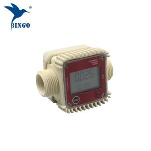 top quality 10-120L/min digital fuel water electronic turbine flow meter
