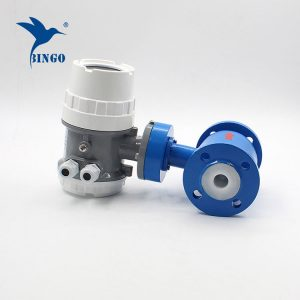 china good price precise XFE electromagnetic flow meter for conductive liquid
