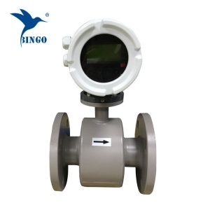 flow measuring instruments flanged electromagnetic water flow meter
