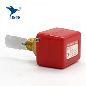 brass stainless steel material thread connection paddle water flow switch