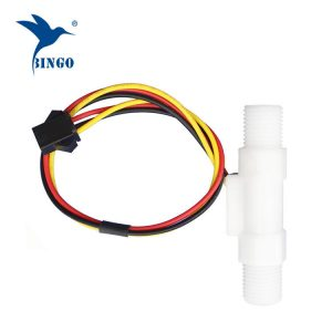 POM food grade flow sensor with hall effect